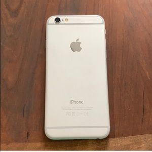 Silver At&t Iphone 6